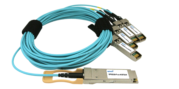 100G QSFP28 to 4x 25G SFP28 AOC