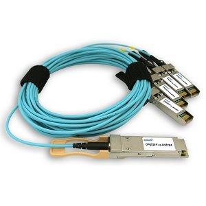 QSFP28 100G fanout AOC