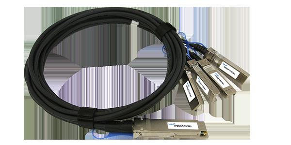 100G QSFP28 to 4x 25G SFP28 DAC